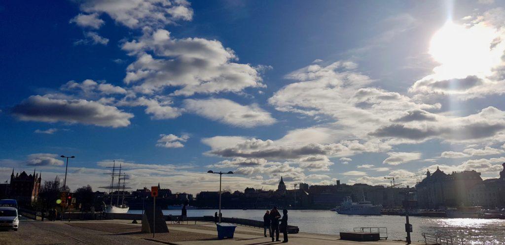 Stockholm view by Ingemar Pongratz